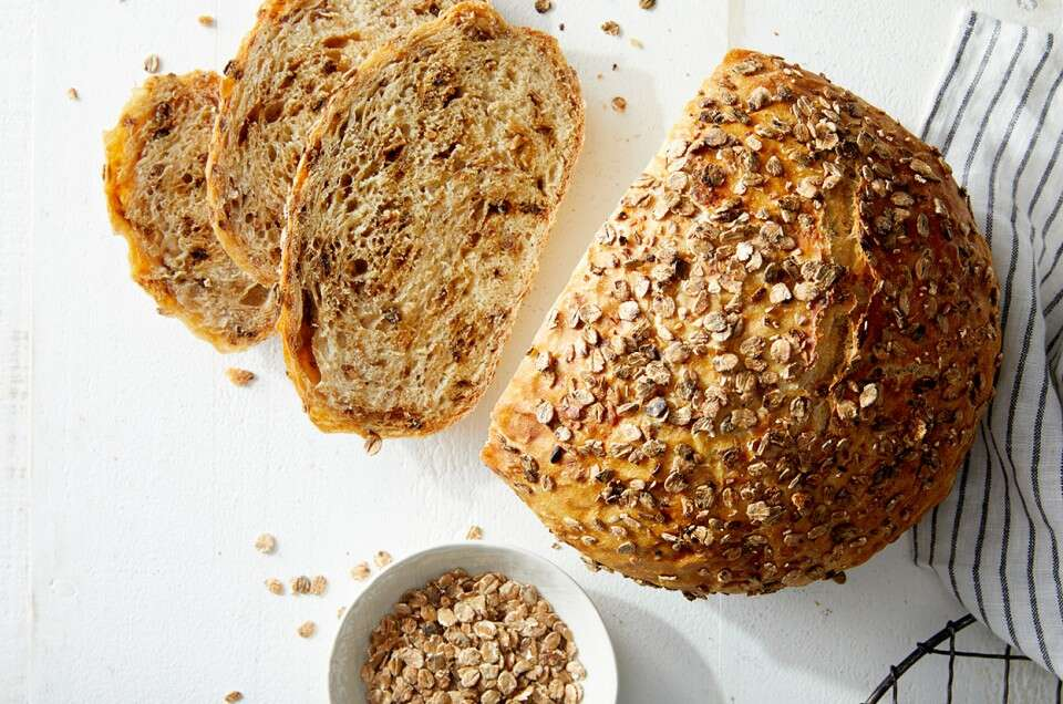 Malted Wheat Flake Bread