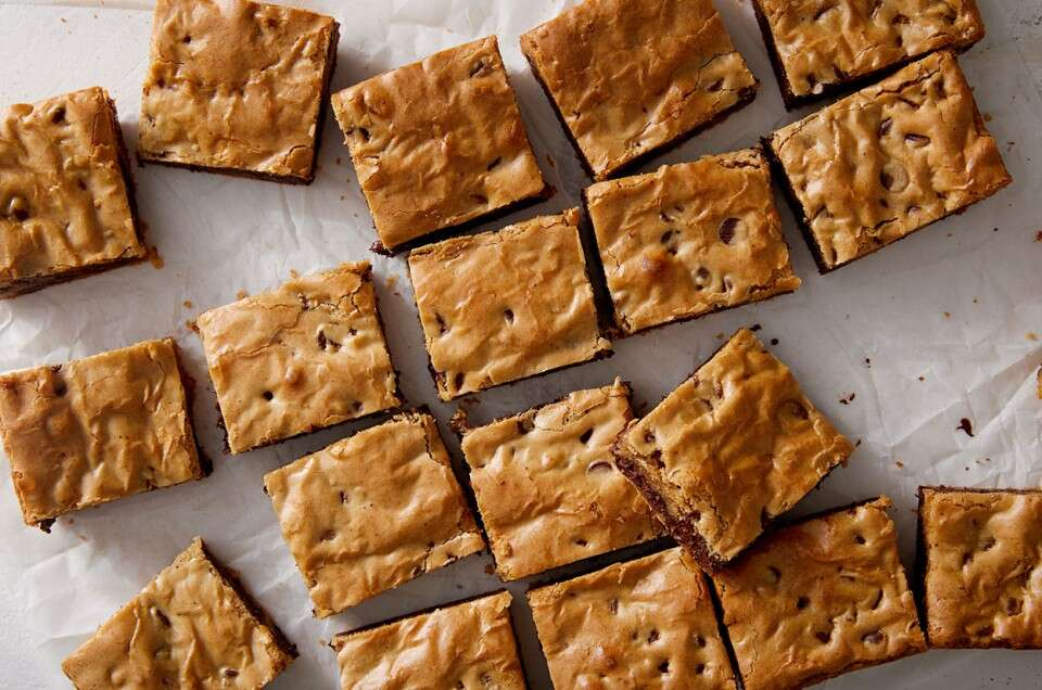 Organic Chewy Chocolate Chip Cookie Bars