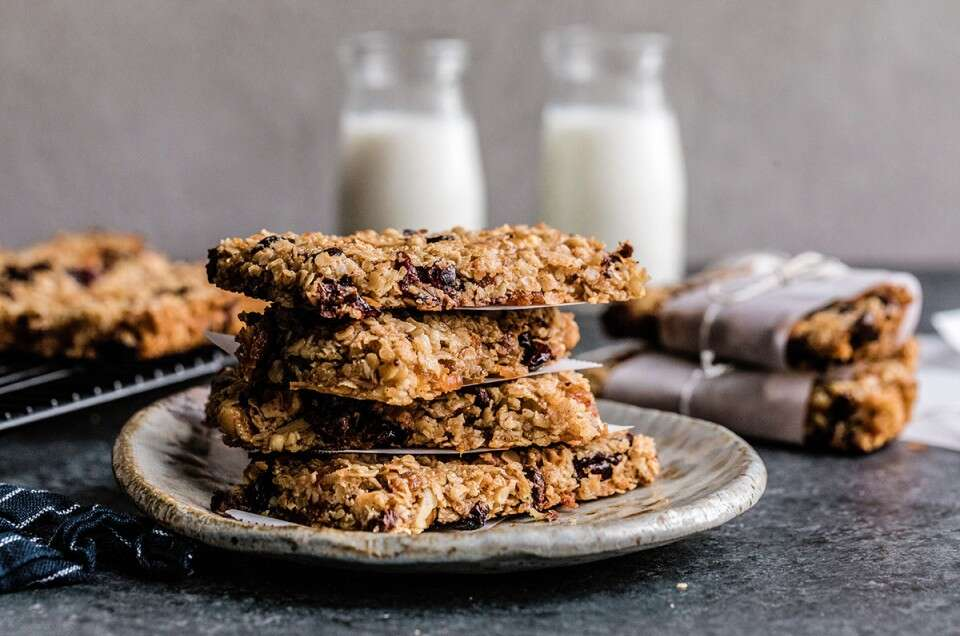 Chewy Granola Bars - select to zoom