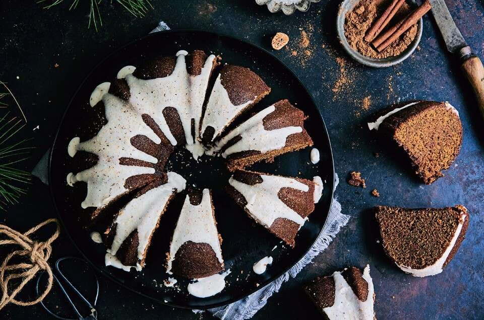 Gingerbread Bundt Cake - select to zoom