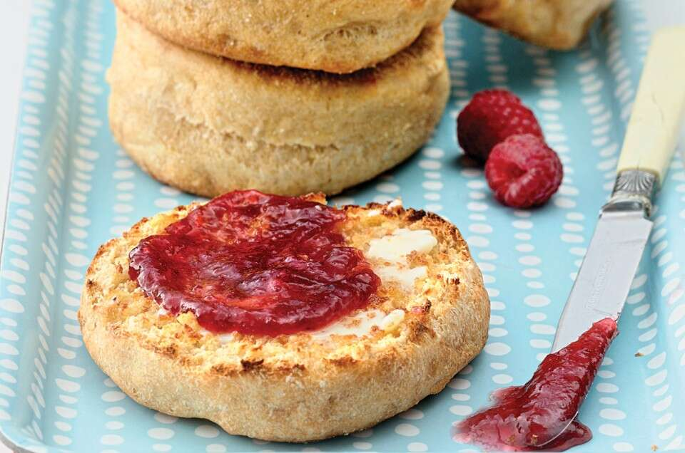 Baked English Muffins - select to zoom