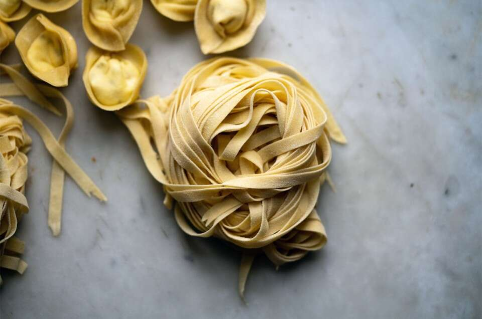Golden Durum Pasta - select to zoom
