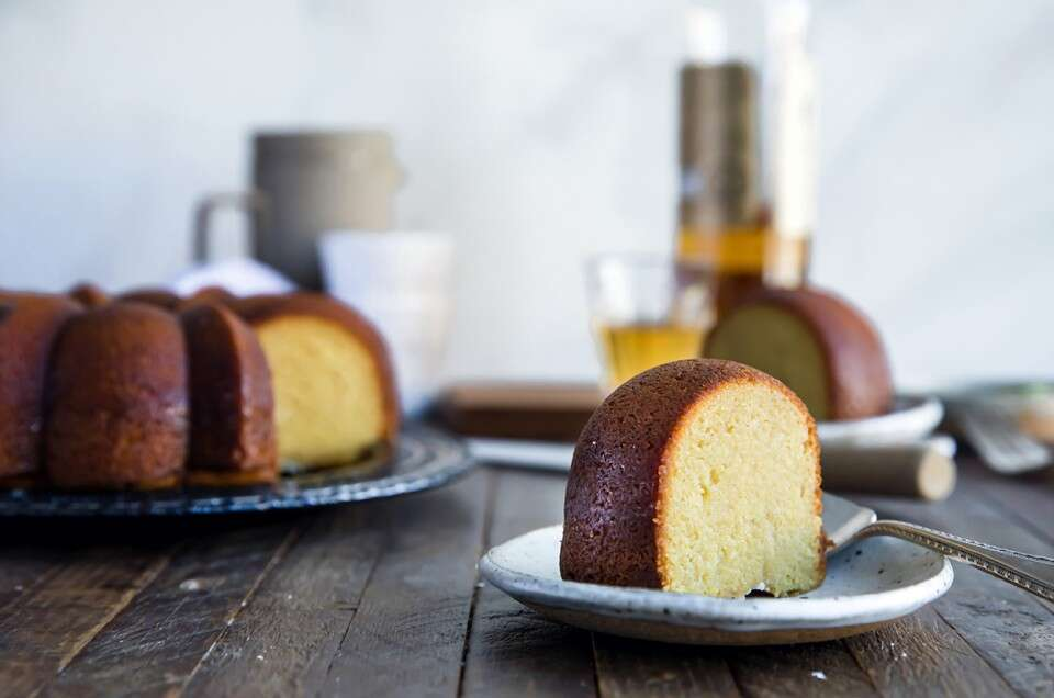 Gluten-Free Caribbean Rum Cake - select to zoom