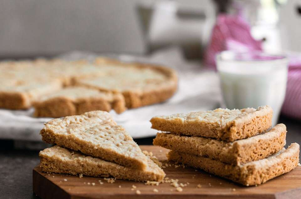 Gluten-Free Shortbread - select to zoom