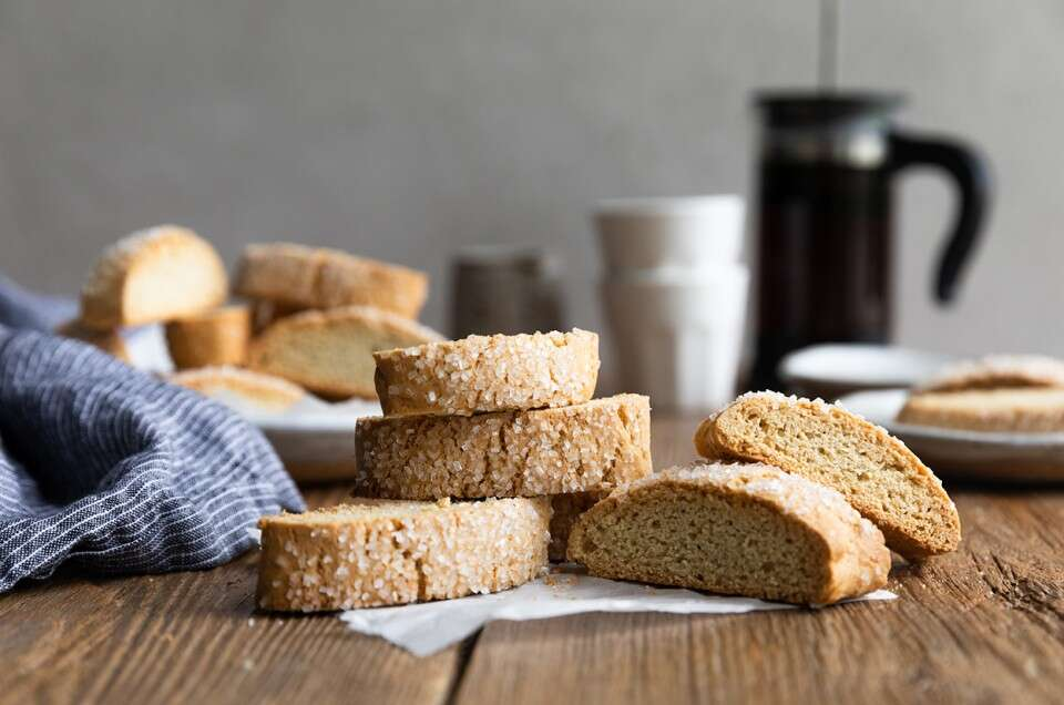 Gluten-Free Vanilla Biscotti - select to zoom