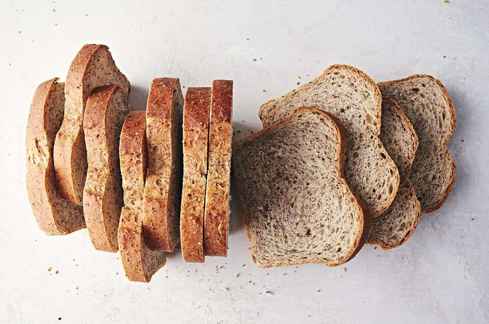 Soft Sandwich Bread with Flax - select to zoom