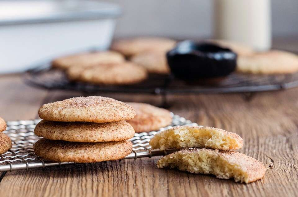 Gluten-Free Buttery Snickerdoodles - select to zoom