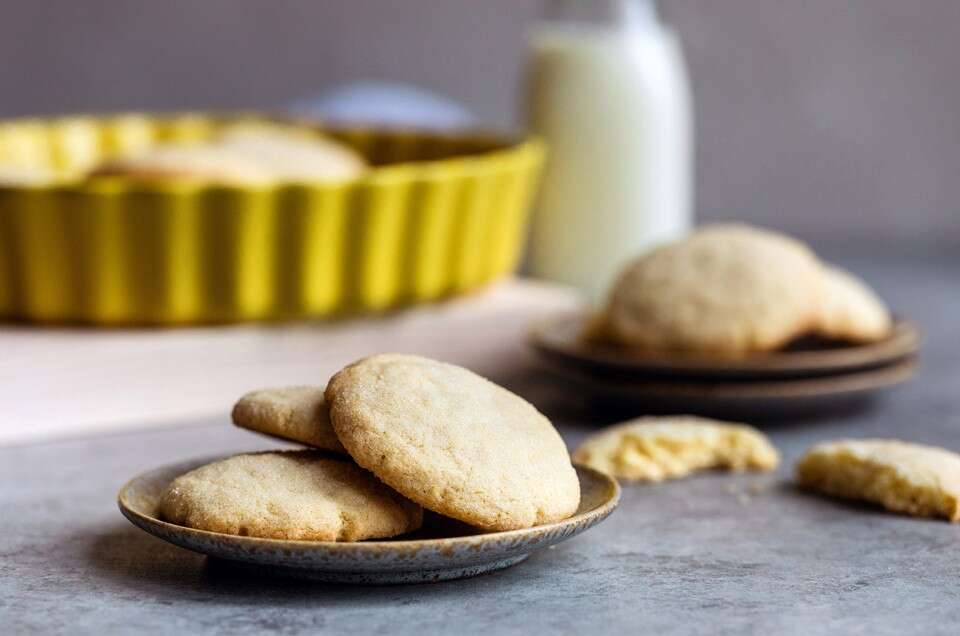 Gluten-Free Cream Cheese Sugar Cookies