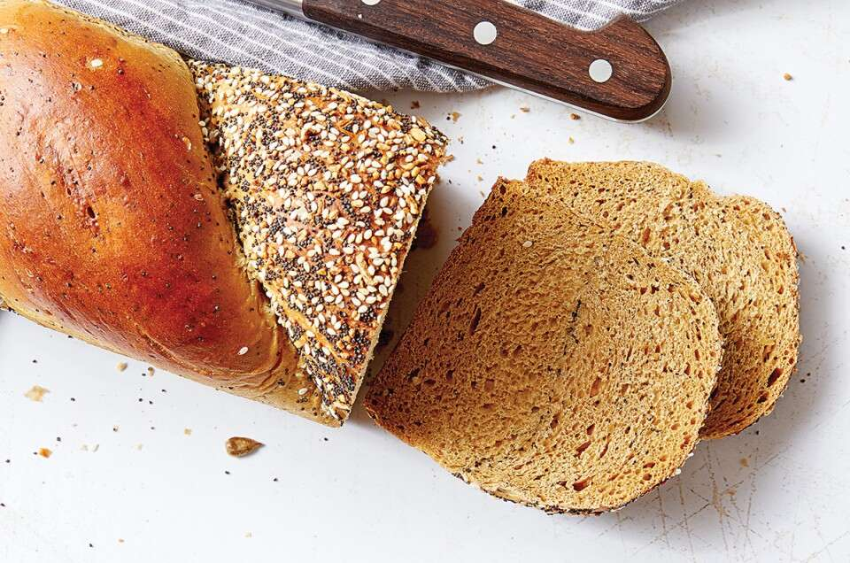 Molasses Multi-Seed Bread
