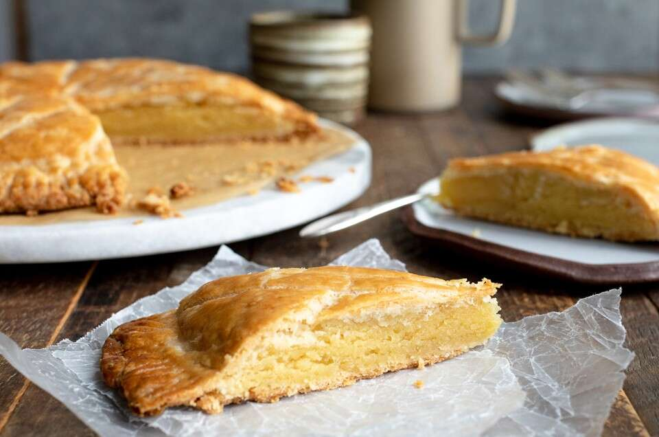 Gluten-Free Almond Galette - select to zoom