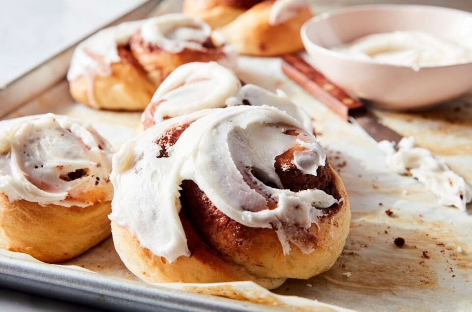 Perfectly Pillowy Cinnamon Rolls - select to zoom