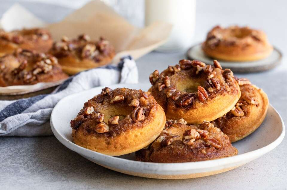Sticky Bun Doughnuts - select to zoom
