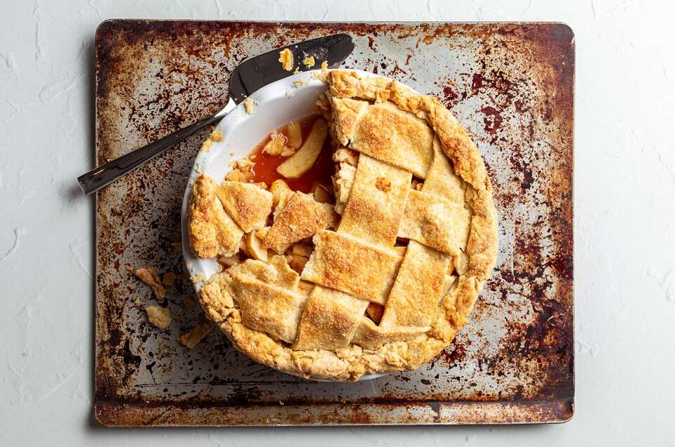The Best Apple Pie - select to zoom