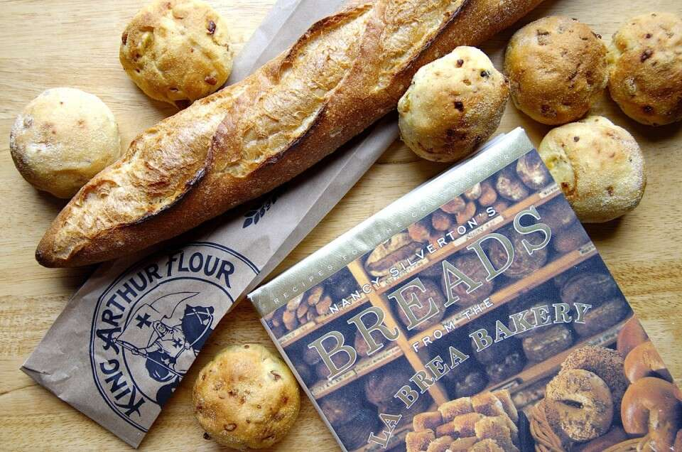 American Baking Down the Decades artisan bread via @kingarthurflour