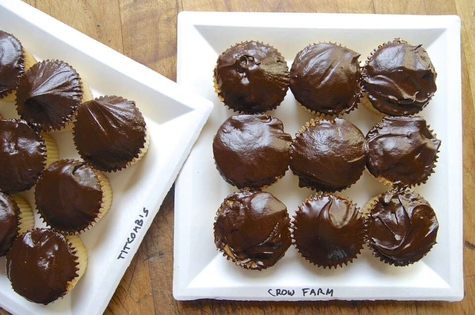 Cupcakes for Sharing via @kingarthurflour