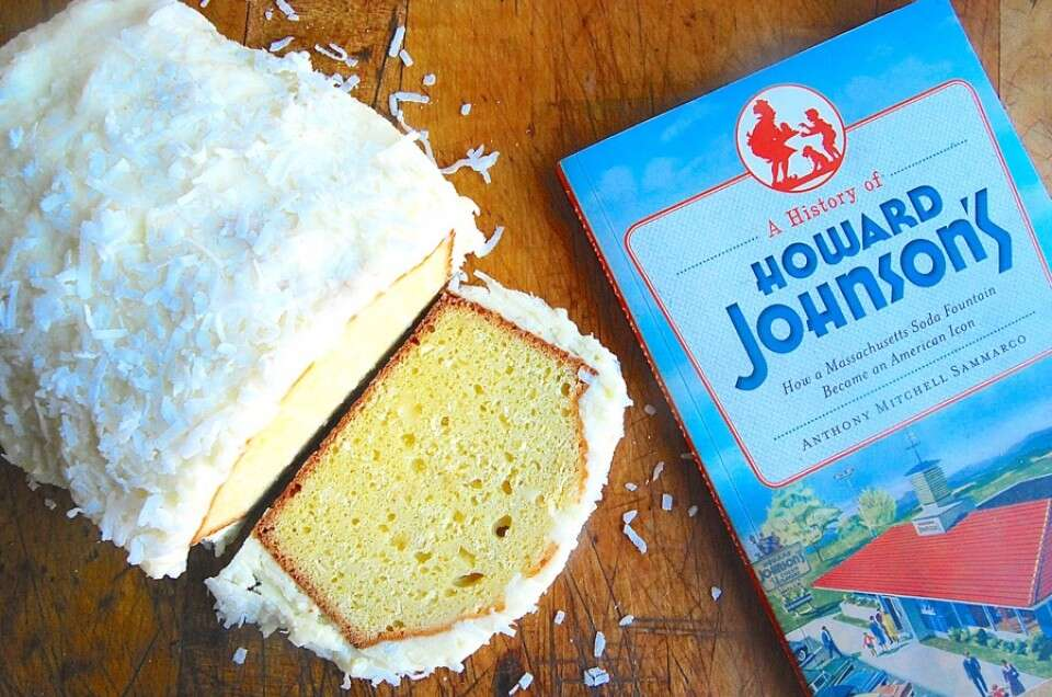 Howard Johnson's Coconut Cake