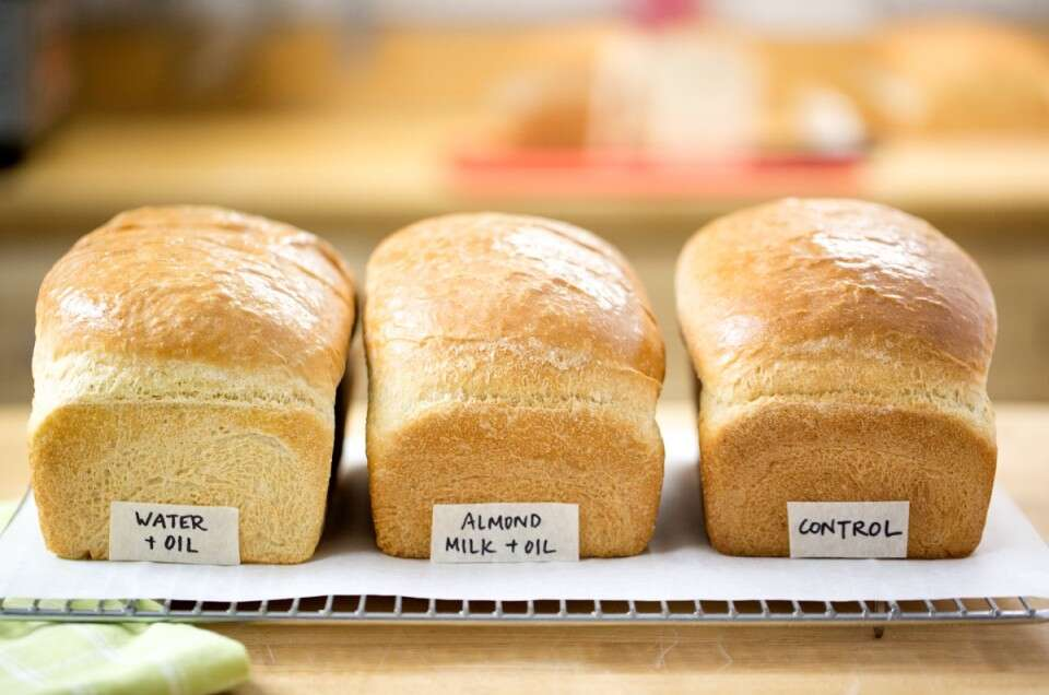 Dairy-free bread via @kingarthurflour