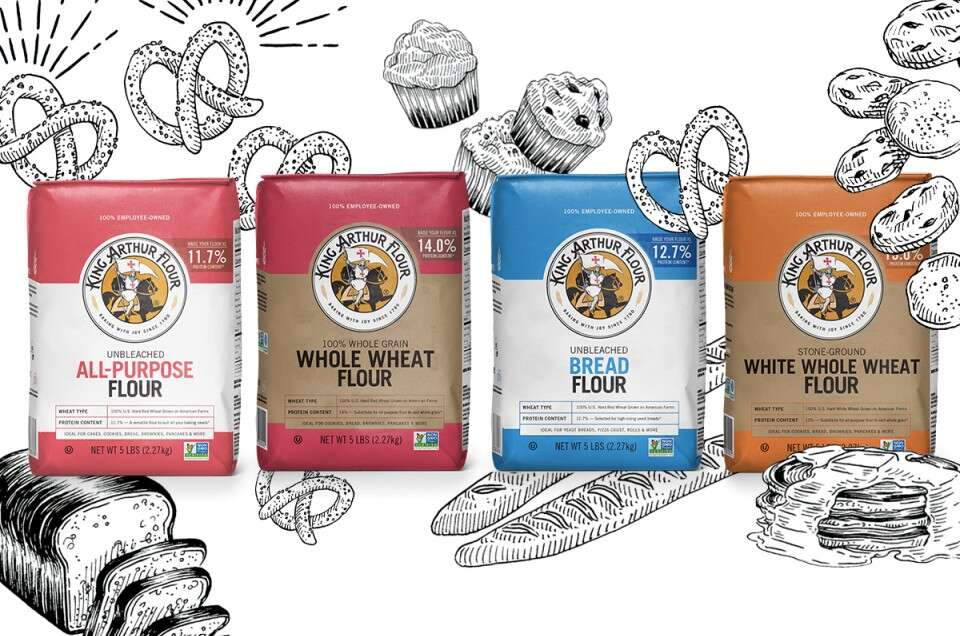 Types of flour