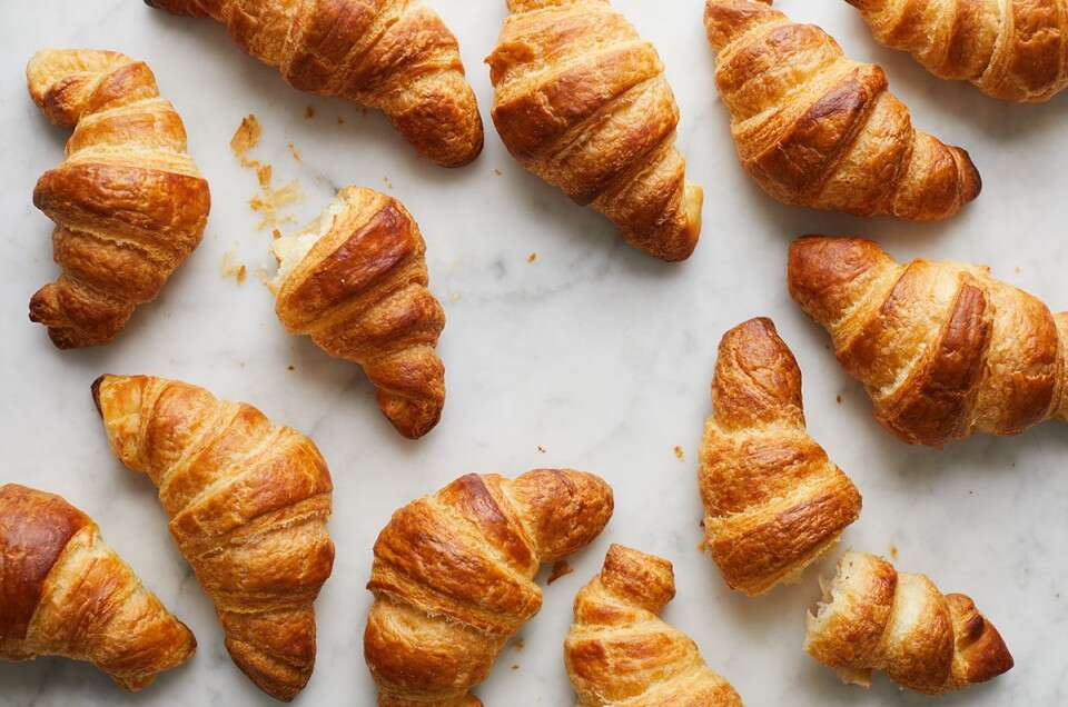 How to make croissants via @kingarthurflour
