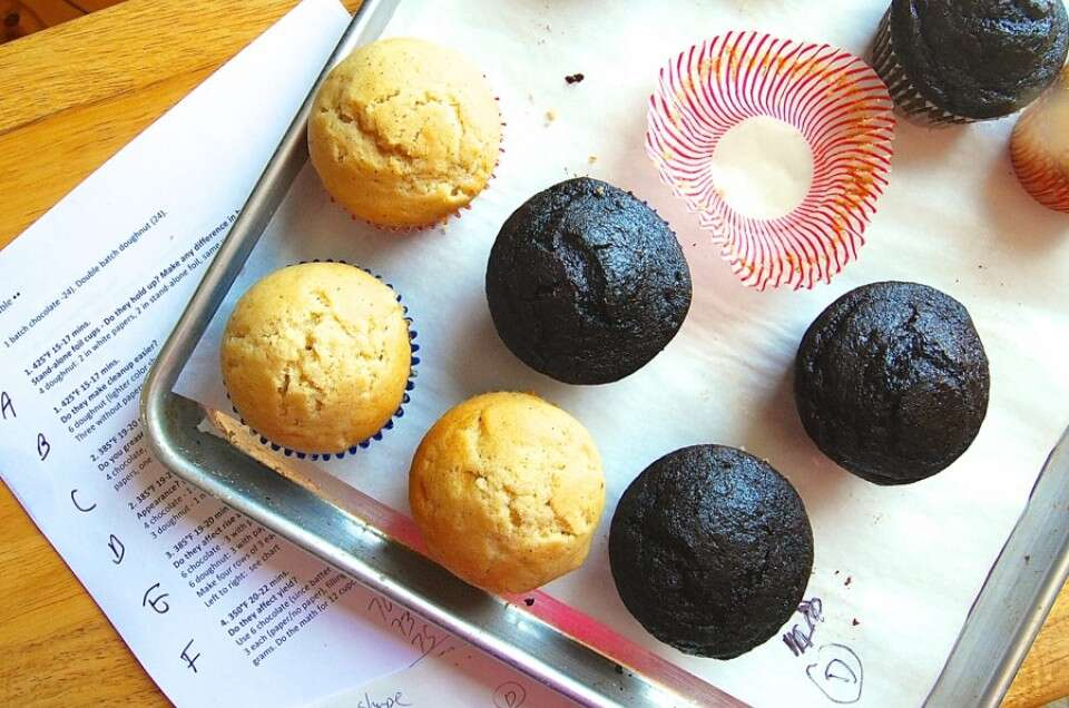 How to use muffin papers via @kingarthurflour