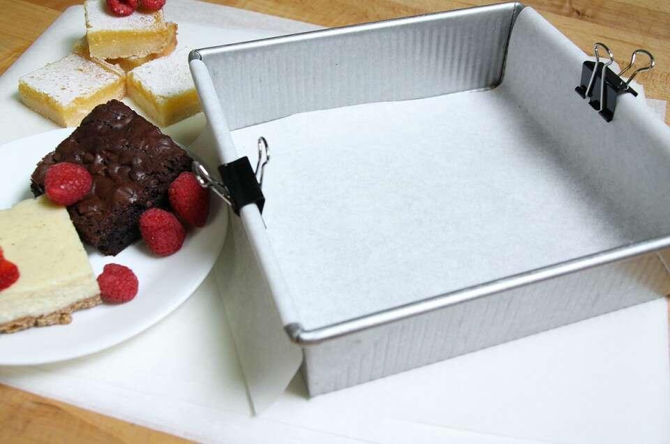 Baking with a parchment paper sling | King Arthur Flour