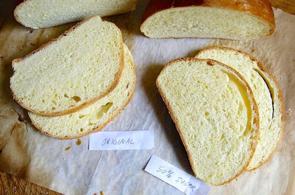 How to reduce sugar in yeast bread via @kingarthurflour