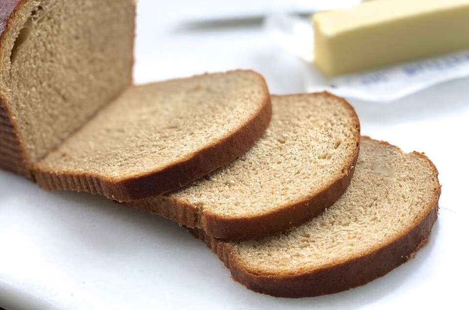 Whole wheat and gluten-free bread made with tangzhong @kingarthurflour