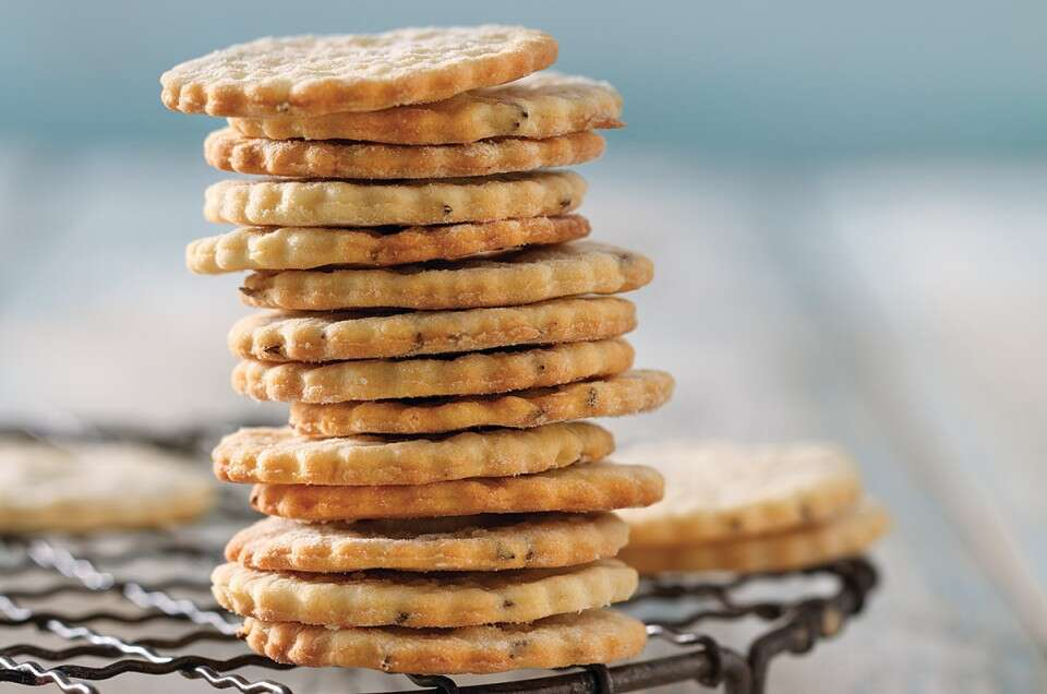 Caraway Cookies from Sift via @kingarthurflour