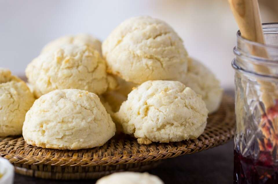 Easy Gluten-Free Biscuits via @kingarthurflour