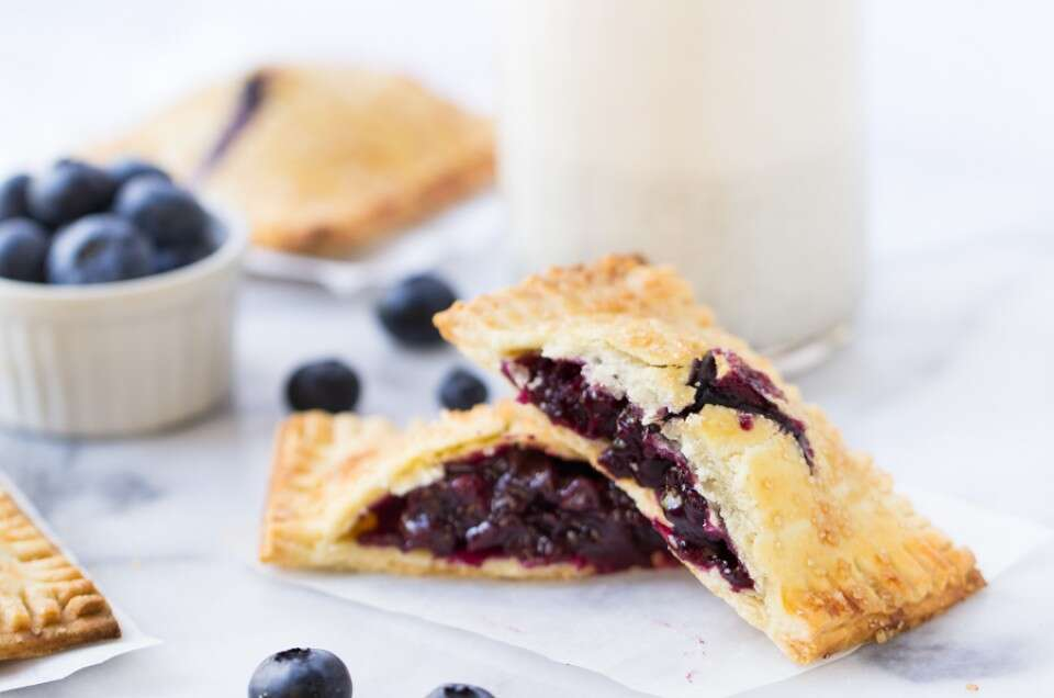 Gluten-Free Blueberry Hand Pies via @kingarthurflour