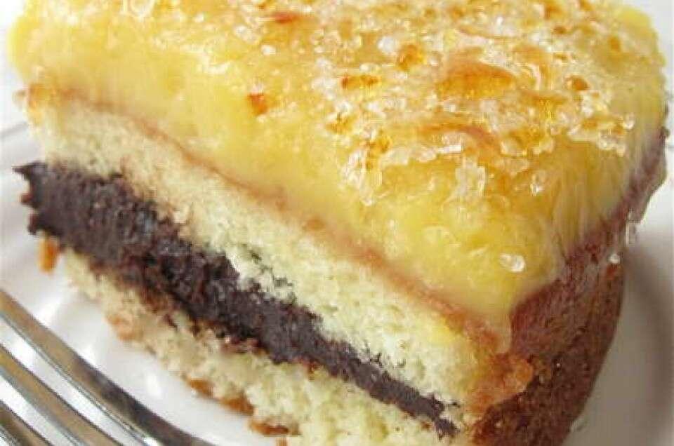 Hot stuff! Crème brûlée cake   King Arthur Flour