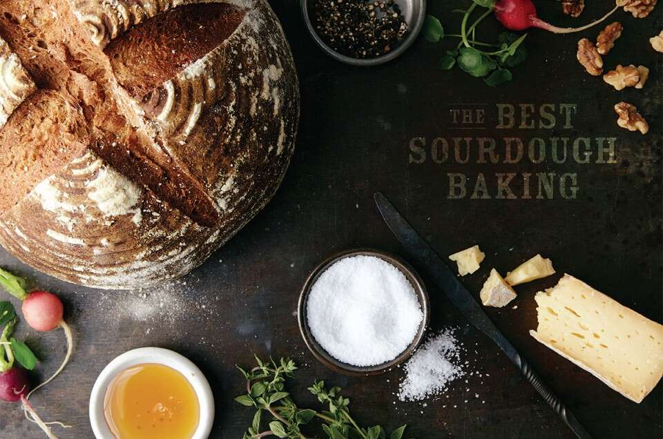 sourdough baking via@kingarthurflour