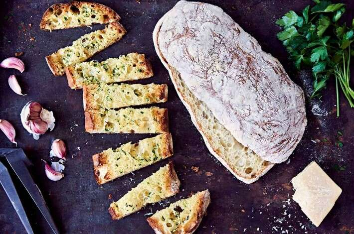Ciabatta, Pan Bagna, & Garlic Bread