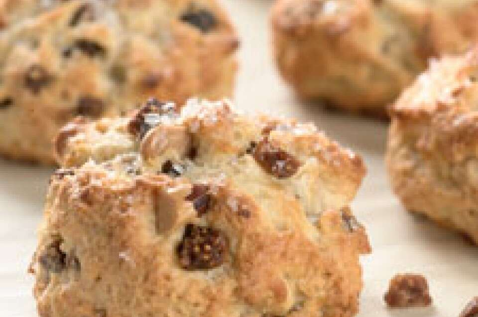 Fig and Toasted Almond Scones