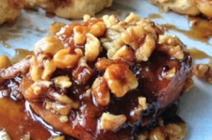 Maple-Walnut Sticky Buns