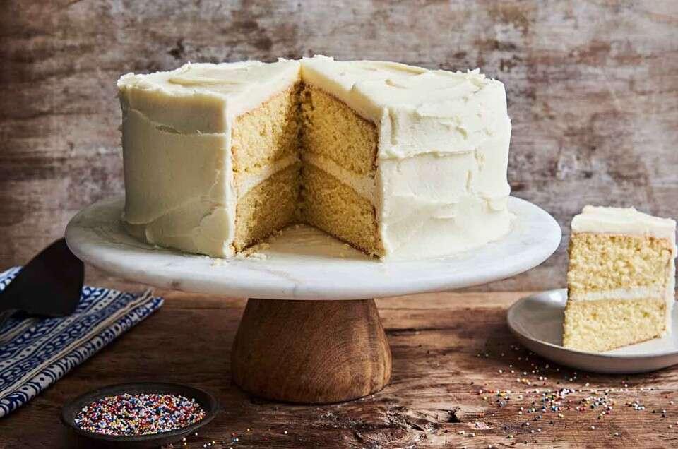 Golden Vanilla Cake King Arthur Flour