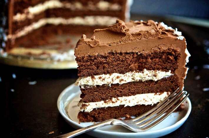 Fudgy Coconut Cream Cake
