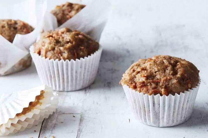 Ginger-Carrot Muffins