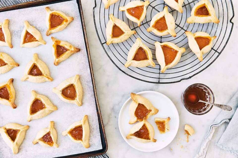 Zingerman's Hamantaschen with Apricot Filling