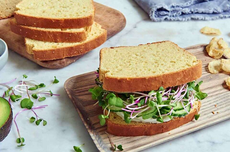 Gluten-Free Double-Milk Sandwich Bread