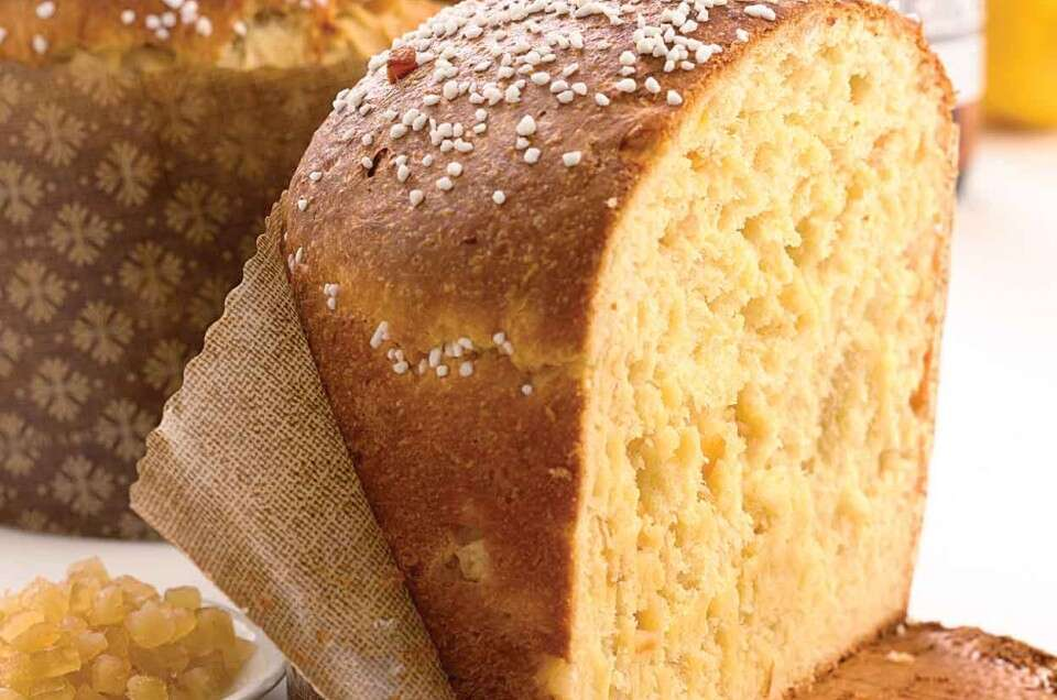 Ginger-Apricot Panettone