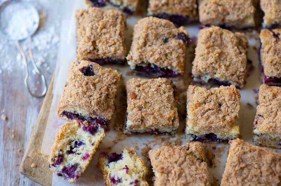 Blueberry Buckle Coffeecake