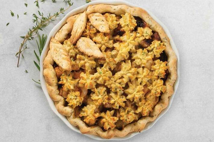 Roasted Root Vegetable Pie