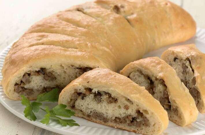 Stuffed Breakfast Crescent
