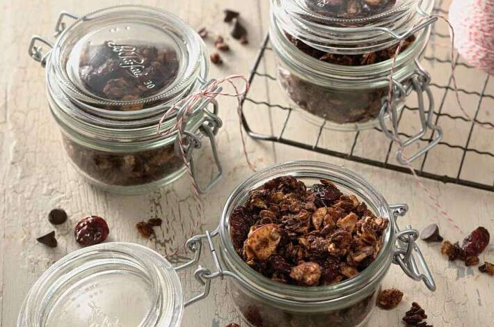 Chocolate and Cherry Granola