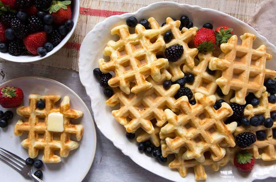 The Easiest Waffles