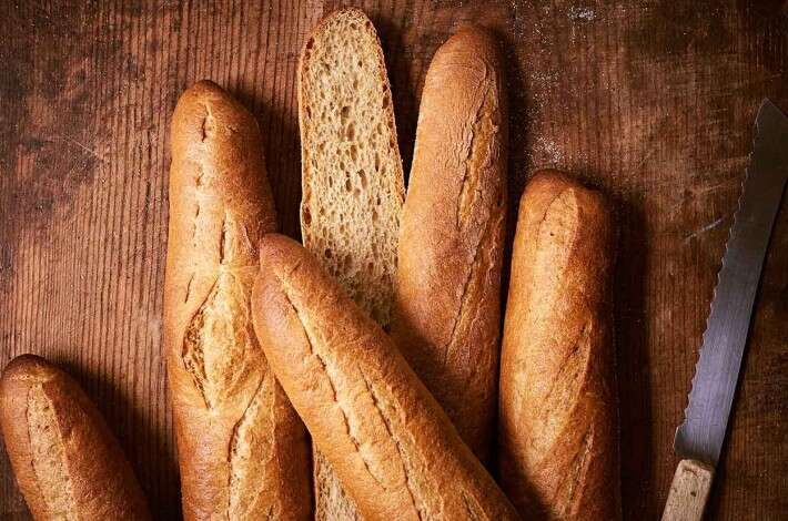 Whole Wheat Baguettes
