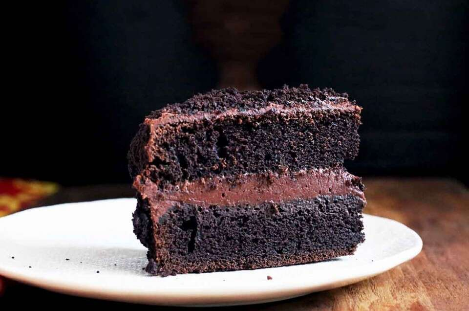"Chocolate Fudge ""Blackout"" Cake"