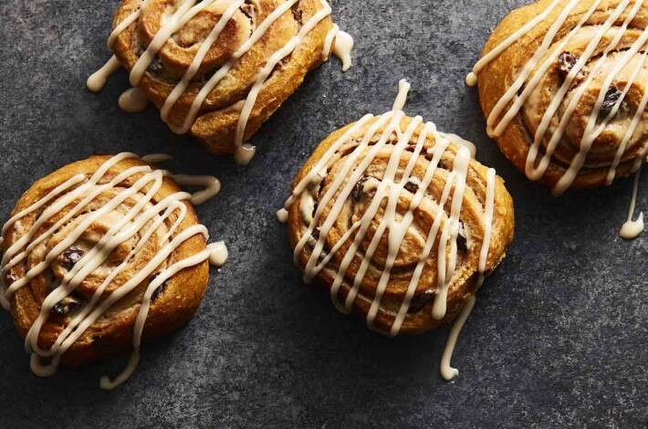 Maple Pumpkin Rolls