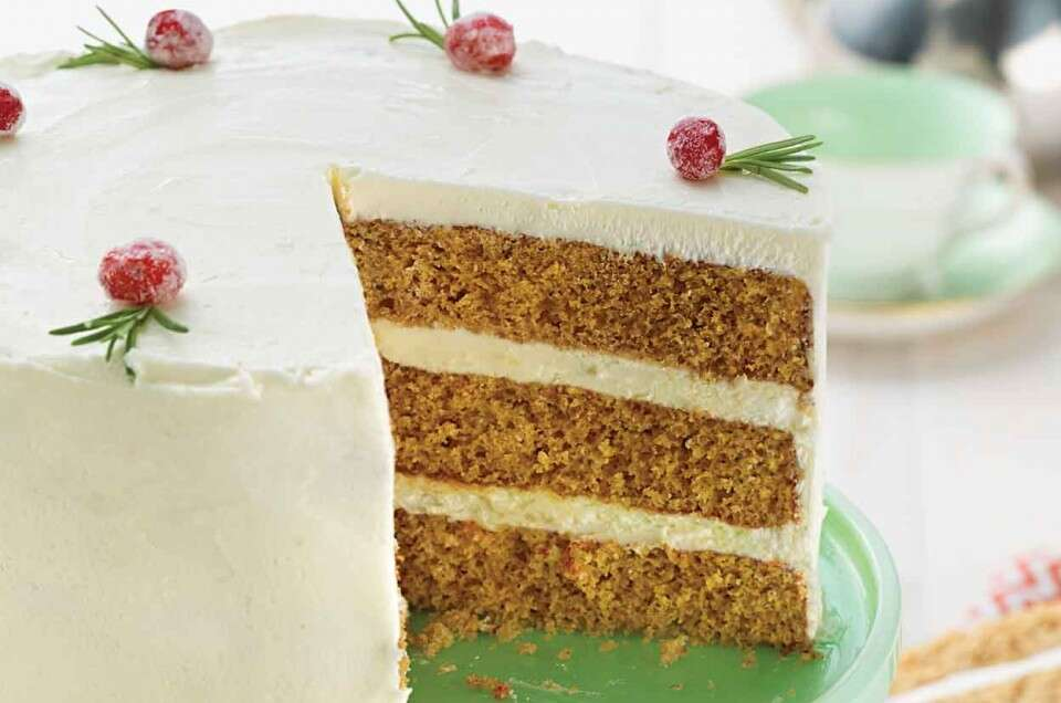 Golden Spice Cake
